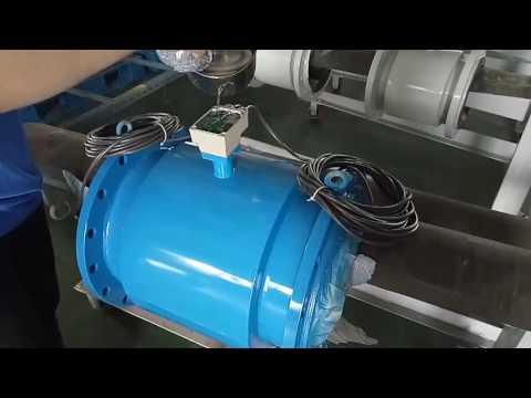 ĐỒNG HỒ ĐO LƯU LƯỢNG ĐIỆN TỪ CHỐNG NƯỚC - WATERPROOF ELECTROMAGNETIC FLOWMETER