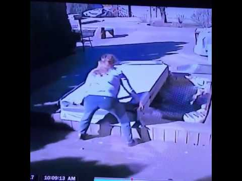 Woman gets hit by hot tub cover during high winds in metro Detroit
