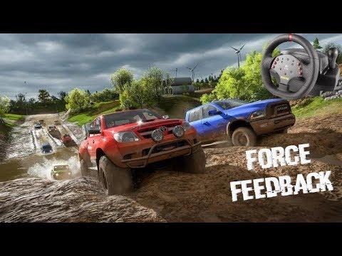 Forza Horizon 4 + Logitech MOMO Racing настройка Force Feedback
