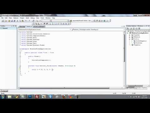 C# Tutorial 9, Integers and Doubles