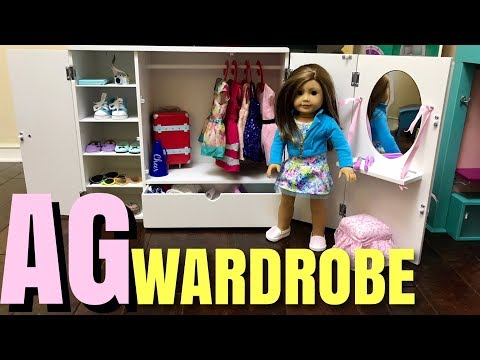Awesome American Girl Closet - Wardrobe