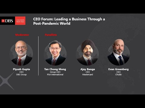 CEO Forum: Leading a Business Through a Post-Pandemic World