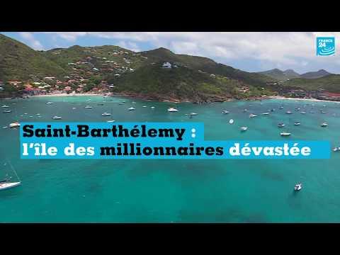 Saint-Barthélemy : l'île des millionnaires dévastée
