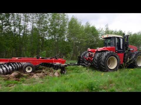 Демо-показ трактора VERSATILE 2375 и бороны SD 1050