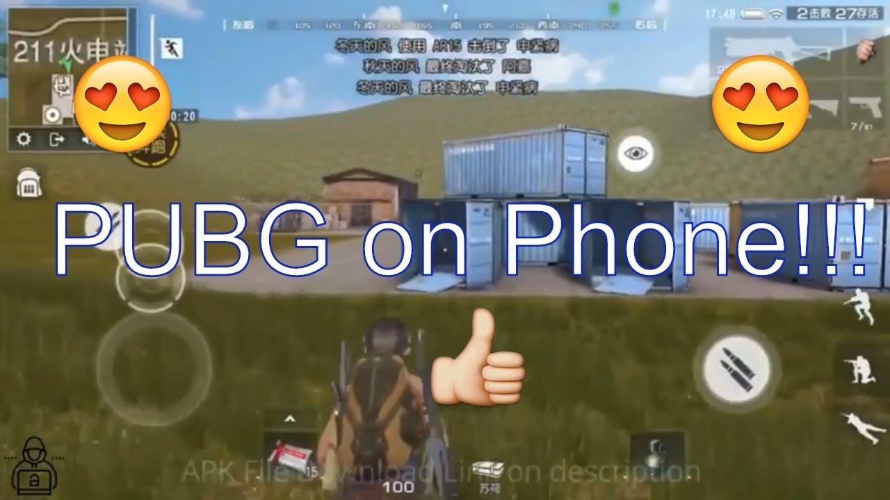 download file pubg mobile