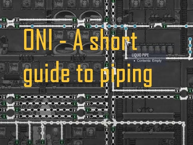 ONI  - A short guide to neat piping