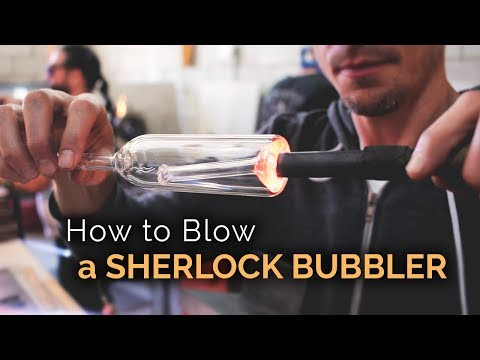 How to Blow Glass Pipes, Bongs, Bubblers, and More by Purr - Part 8