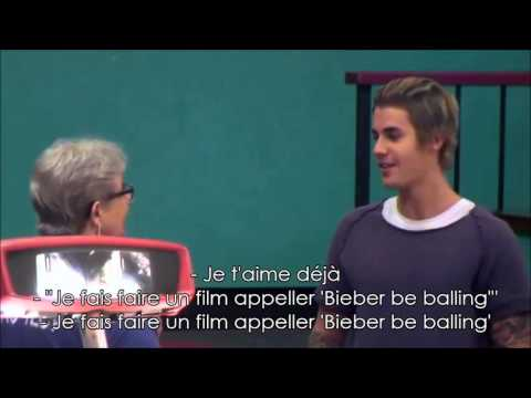 Justin sur Repeat after me - Partie 1 || VOSTFR