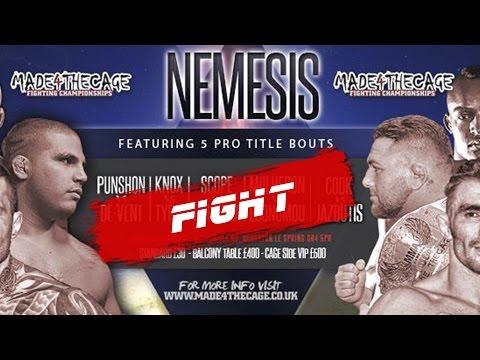 Made 4 the Cage 13 - Nemesis - Michelle Nicolini VS Lanchana Green
