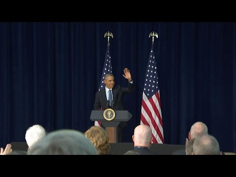President Obama Addresses Chiefs of Mission Conference