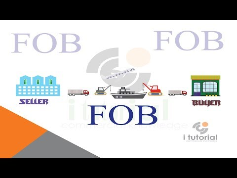 free on board !! FOB !! incoterms !! international commercial terms!! i tutorial!!
