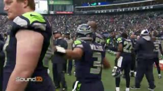 Russell Wilson Mic'd up vs Rams