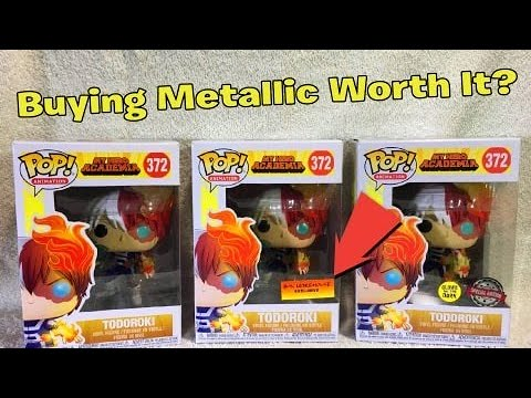 Buying Metallic Todoroki Worth It? | Box Warehouse Exclusive?..