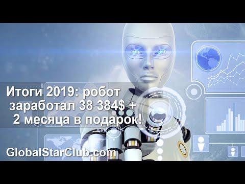 Итоги 2019 - Робот Da Vinci заработал 38 384$