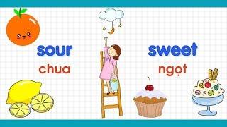 Học từ vựng tiếng Anh - Các cặp từ đối lập thường gặp