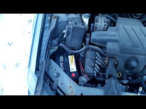 How to Replace Car Battery – GM Pontiac Grand Prix