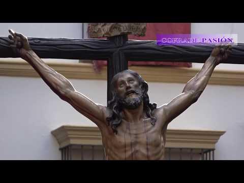 Cristo de la Expiración y Virgen del Patrocinio (Cachorro) por la Magdalena (S. Santa Sevilla 2018)