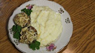 Шампиньоны (грибы) запеченные с сыром| Mushrooms baked with cheese
