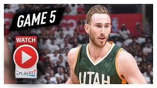 Gordon Hayward Full Game 5 Highlights vs Clippers 2017 Playoffs - 27 Pts, 8 Reb
