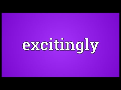 Header of excitingly