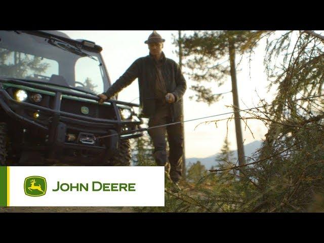 Pojazdy użytkowe John Deere - Mocna wciągarka