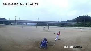 아티스트200818 연습경기 타자1