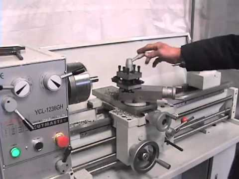 "12"" x 36"" Cutmaster Lathe from Industrial Machinery"