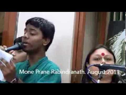"Mone Prane Rabindranath. ""Ami bhoy korbo na bhoy "" August,2013."