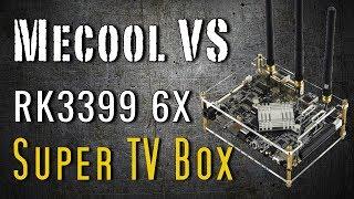 Mecool VS Rockchip RK3399 64bit Android 7.1 Super Development Board - Most Unique TV Box for 2017