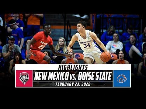 New Mexico Vs. Boise State Basketball Highlight (2019-20) | Stadium