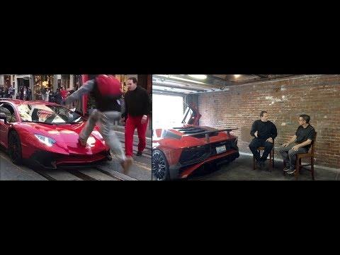 Guy Runs Over Lamborghini Aventador SV  Hear From the Owner