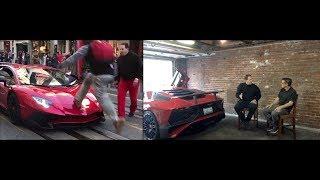 Guy Runs Over Lamborghini Aventador SV - Hear From the Owner thumbnail