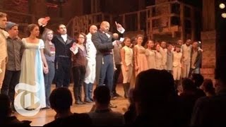 """Hamilton"" Cast Deliver Message to Mike Pence 