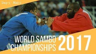 World Sambo Championships. Sochi 2017. Day 3. Mat 2