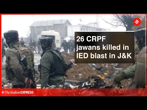 Breaking News | J&K: 26 CRPF men killed in Awantipora blast, JeM claims responsibility Mp3