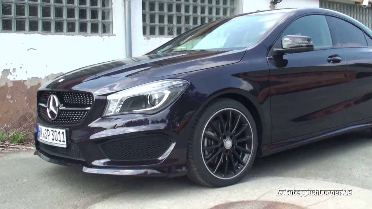 Mercedes Classe Cla Amg Bleu