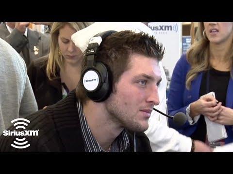 Tim Tebow on Leadership // SiriusXM // NFL Radio FEB 2012