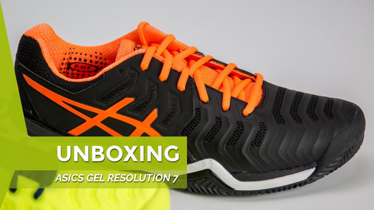 zapatillas padel asics resolution 7