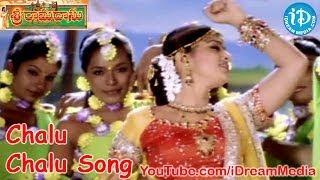 Sri Ramadasu Movie Songs - Chalu Chalu Song - Nagarjuna - Sneha - MM Keeravani