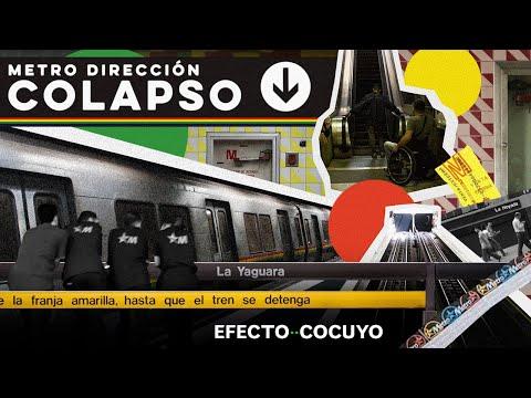 Colapso y destrucción en el Metro de Caracas