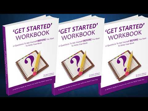 Writing a book? Here's your first step to get started