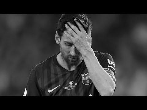 Der nächste Tiefpunkt in Messi's Karriere..
