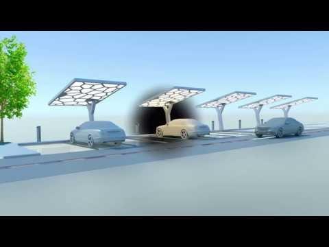 Solar powered EV charging station - TU Delft