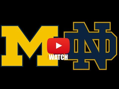 Michigan vs Notre Dame Week 1 Full Game Highlights (HD)