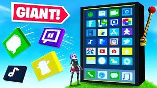 *GIANT* iPHONE DEATHRUN in FORTNITE!