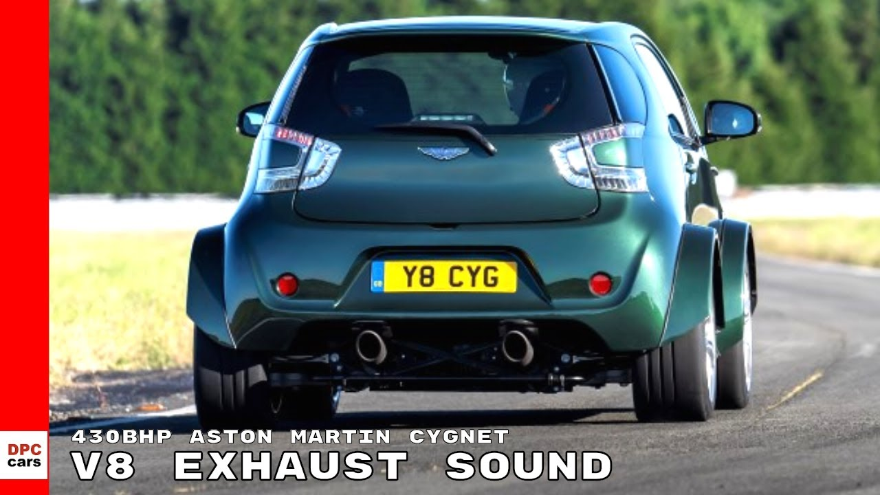 430bhp Aston Martin Cygnet V8 Exhaust Sound Youtube