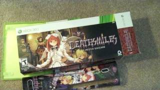 Unboxing Deathsmiles Limited Edition (Xbox 360)