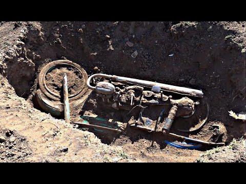 Откопал старый мотоцикл СССР !