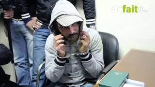 إعادة تمثيل جريمة قتل رجل وزوجته بالحي المحمدي بالدارالبيضاء
