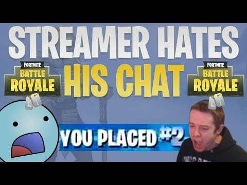 "Fortnite Compilation | Dellor Rage | ""I Hate My Chat!"" 